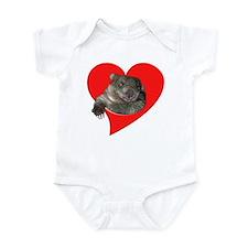 Wombat Love Infant Bodysuit