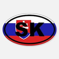 Slovakia flag Decal