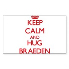 Keep Calm and HUG Braeden Decal