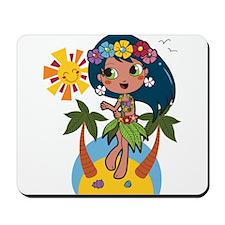 Hula Girl Mousepad