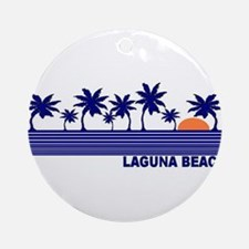 Laguna Beach, California Ornament (Round)