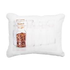 Pepper spice in a bottle Rectangular Canvas Pillow