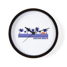 Laguna Beach, California Wall Clock