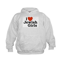 I Love Jewish girls Hoodie