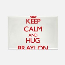 Keep Calm and HUG Braylon Magnets