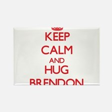 Keep Calm and HUG Brendon Magnets