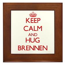 Keep Calm and HUG Brennen Framed Tile