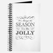 Its Always The Season To Be Jolly Journal