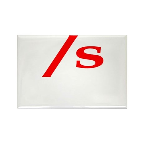 submissive symbol Rectangle Magnet (10 pack)