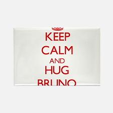 Keep Calm and HUG Bruno Magnets