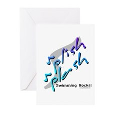 Splish splash (Rocks) Greeting Cards (Pk of 10
