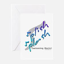 Splish splash (Rocks) Greeting Cards (Pk of 10