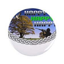 "HAPPY 3.5"" Button (100 pack)"