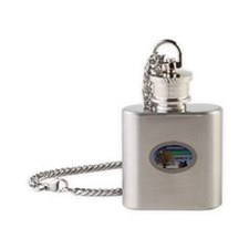 HAPPY Flask Necklace