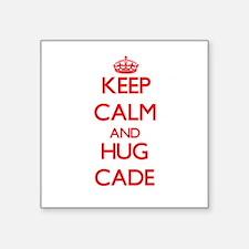 Keep Calm and HUG Cade Sticker