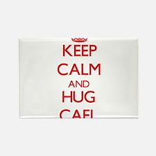 Keep Calm and HUG Cael Magnets