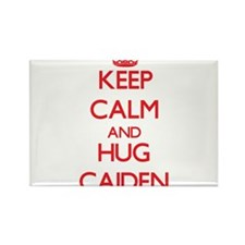 Keep Calm and HUG Caiden Magnets