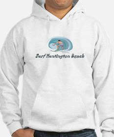 Surf Huntington Beach, Califo Hoodie