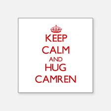 Keep Calm and HUG Camren Sticker
