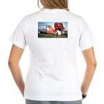 Boomershoot 2007 Women's V-Neck T-Shirt