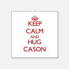 Keep Calm and HUG Cason Sticker