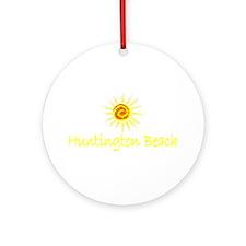 Huntington Beach, California Ornament (Round)