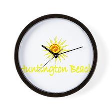 Huntington Beach, California Wall Clock