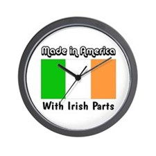 Irish Parts Wall Clock
