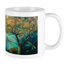 Dragonfly Flirtation Mugs