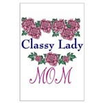 Classy Lady MOM Large Poster