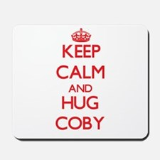 Keep Calm and HUG Coby Mousepad
