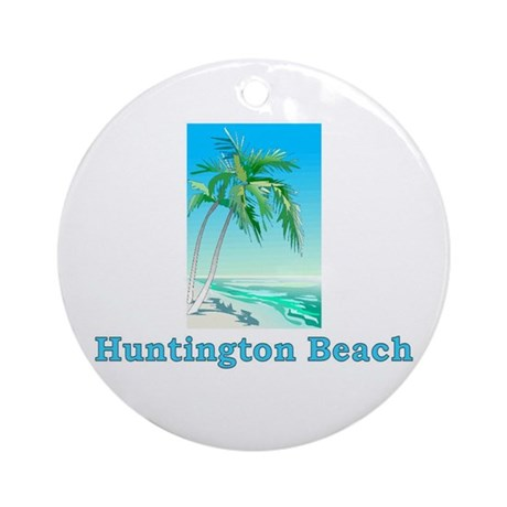 Huntington Beach, California Ornament (Round)