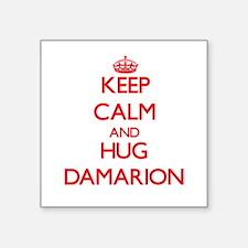 Keep Calm and HUG Damarion Sticker