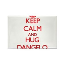 Keep Calm and HUG Dangelo Magnets