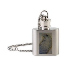 raven Flask Necklace