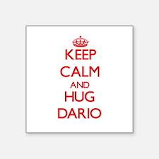 Keep Calm and HUG Dario Sticker