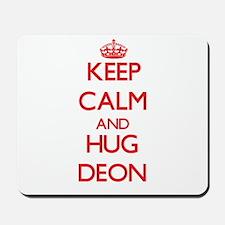 Keep Calm and HUG Deon Mousepad