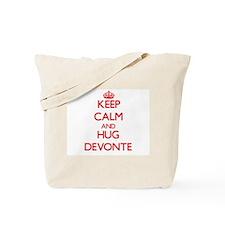 Keep Calm and HUG Devonte Tote Bag