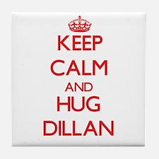 Keep Calm and HUG Dillan Tile Coaster