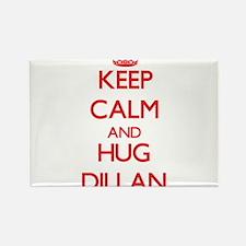 Keep Calm and HUG Dillan Magnets
