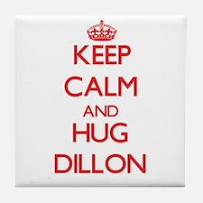 Keep Calm and HUG Dillon Tile Coaster