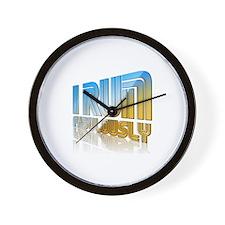 I Run Fabulously Wall Clock
