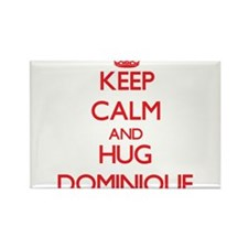 Keep Calm and HUG Dominique Magnets
