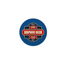 Arapahoe Basin Old Label Mini Button