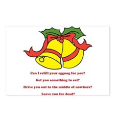 Can I Refill Your Eggnog For You? Postcards (Packa