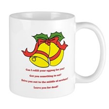 Can I Refill Your Eggnog For You? Mugs