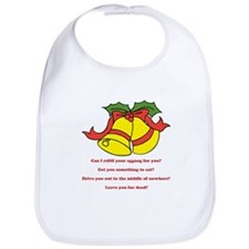 Can I Refill Your Eggnog For You? Bib
