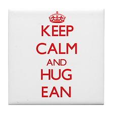 Keep Calm and HUG Ean Tile Coaster