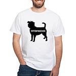 affenpinscher White T-Shirt