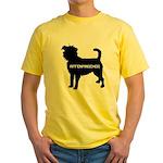 affenpinscher  Yellow T-Shirt